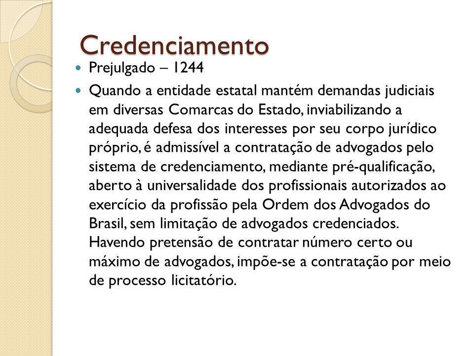 Credenciamento Prejulgado – 1244