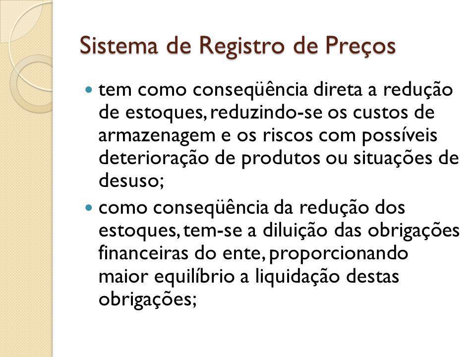 Sistema de Registro de Preços