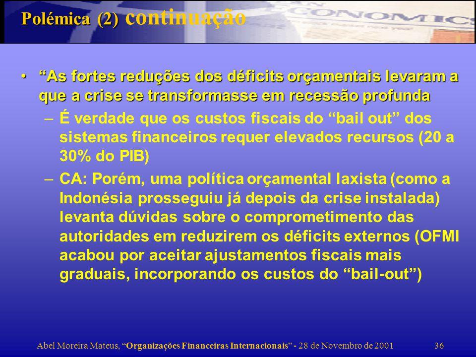 Polémica (2) continuação