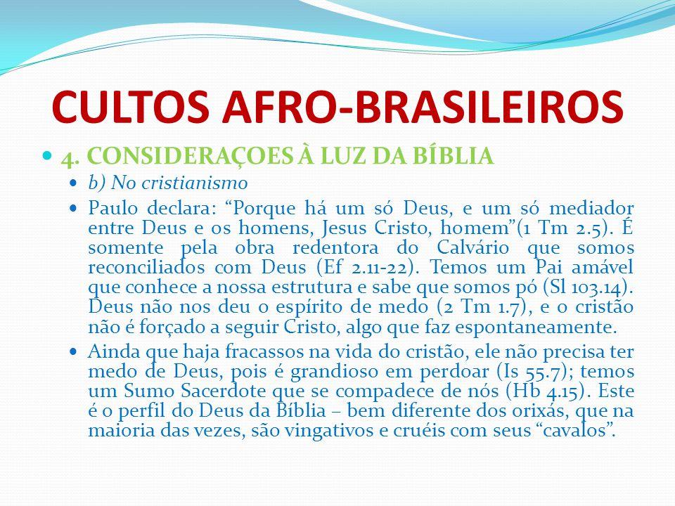 CULTOS AFRO-BRASILEIROS