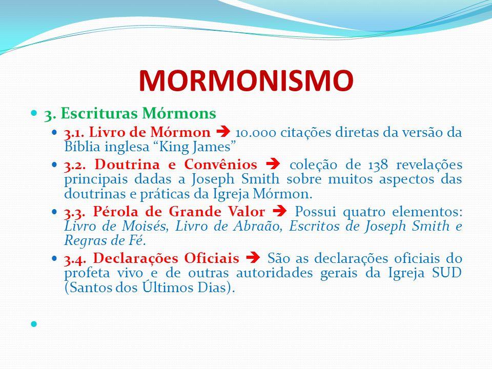 MORMONISMO 3. Escrituras Mórmons