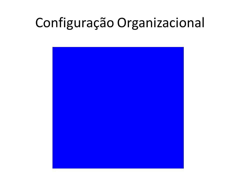 Configuração Organizacional