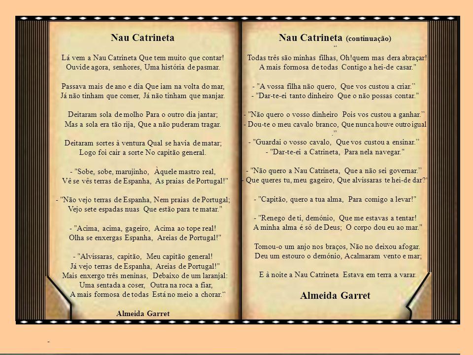 Nau Catrineta (continuação)