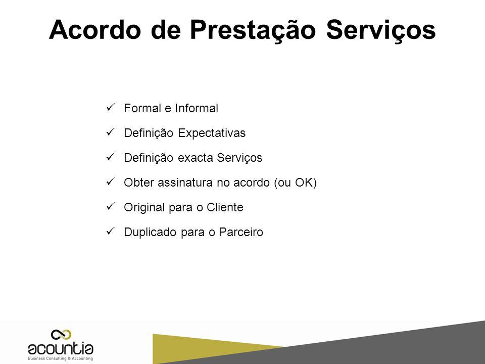 Acordo de Prestação Serviços