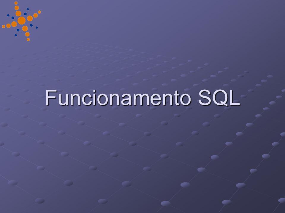 Funcionamento SQL