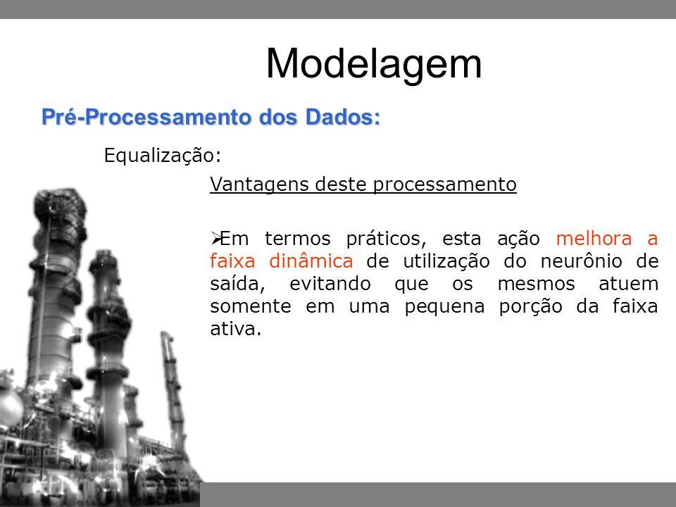 Modelagem Equalização: Vantagens deste processamento