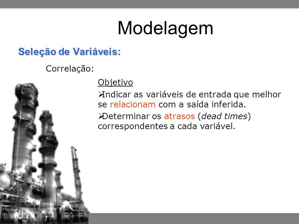 Modelagem Correlação: Objetivo