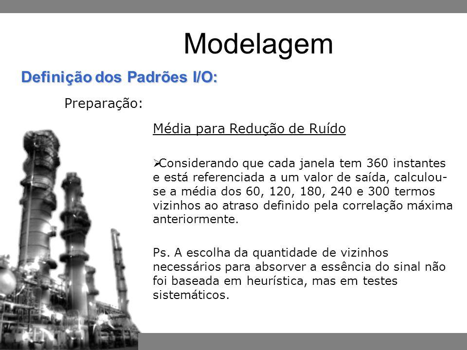 Modelagem Preparação: Média para Redução de Ruído