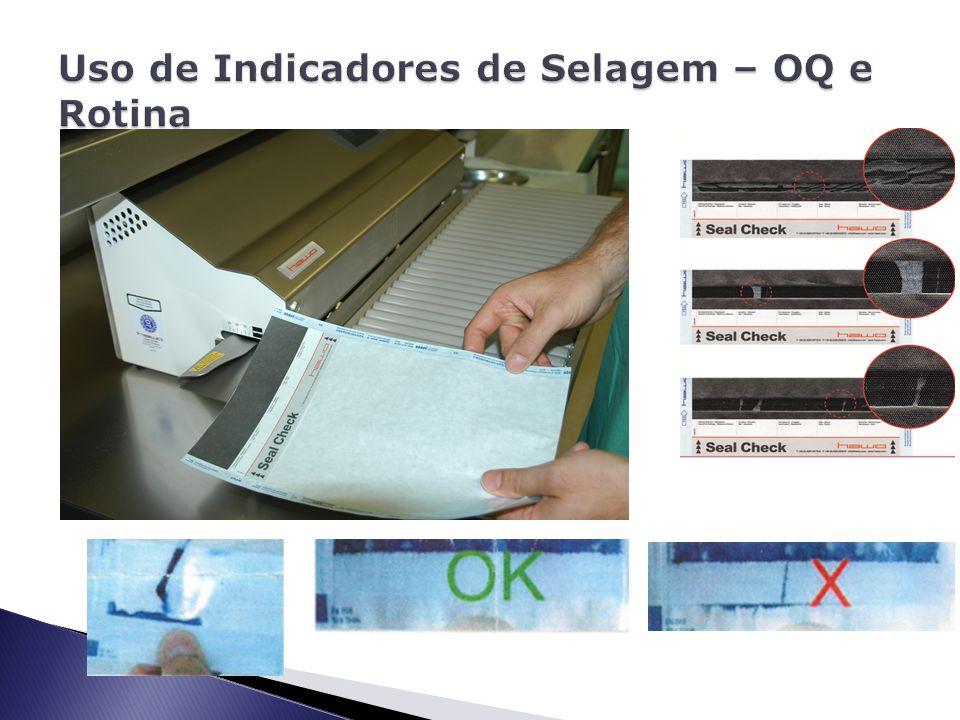 Uso de Indicadores de Selagem – OQ e Rotina