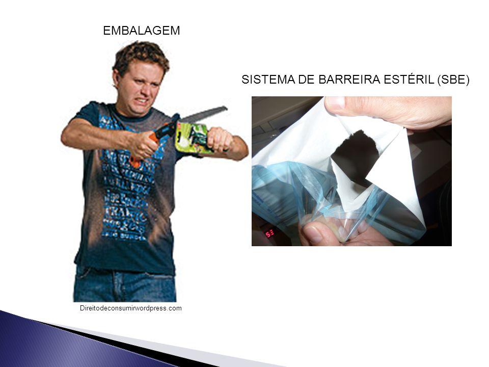SISTEMA DE BARREIRA ESTÉRIL (SBE)