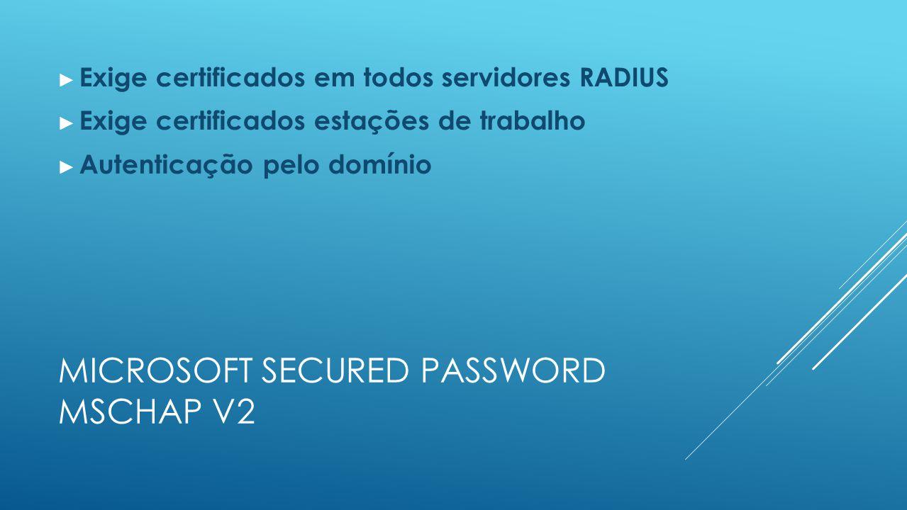 Microsoft secured password mschap v2