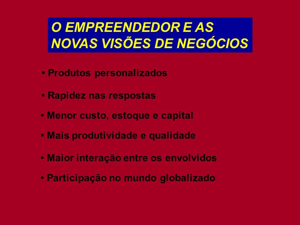NOVAS VISÕES DE NEGÓCIOS