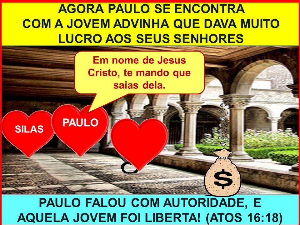 AGORA PAULO SE ENCONTRA
