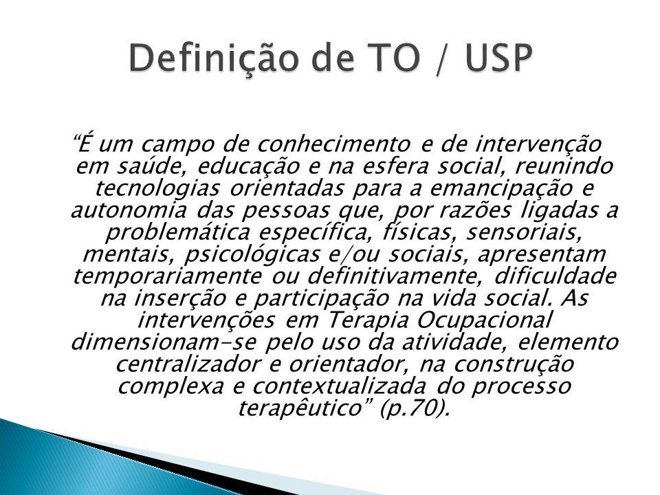 Definição de TO / USP