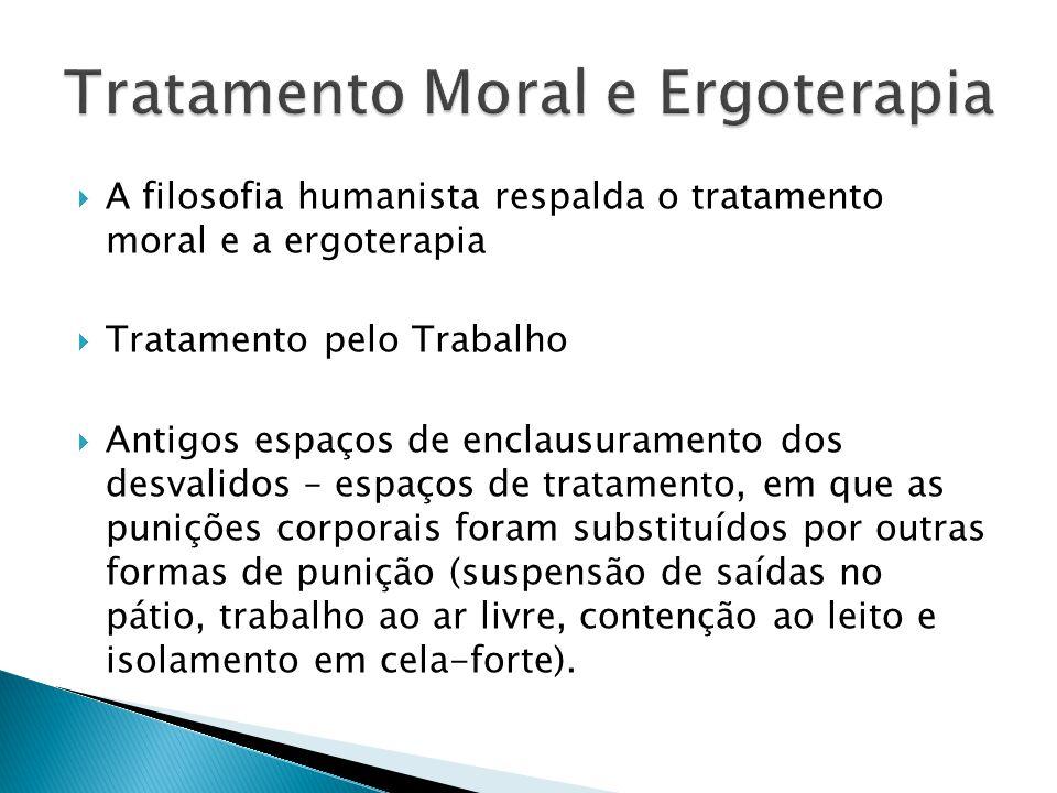 Tratamento Moral e Ergoterapia