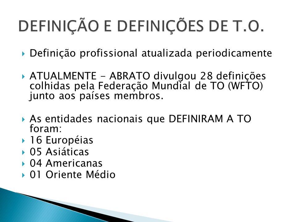 DEFINIÇÃO E DEFINIÇÕES DE T.O.