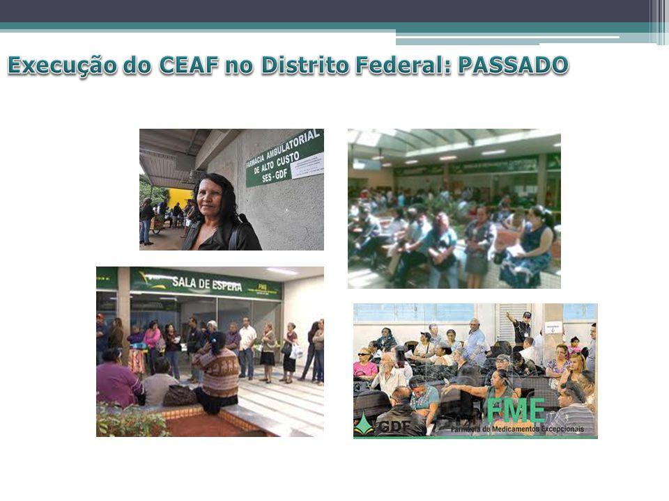 Execução do CEAF no Distrito Federal: PASSADO