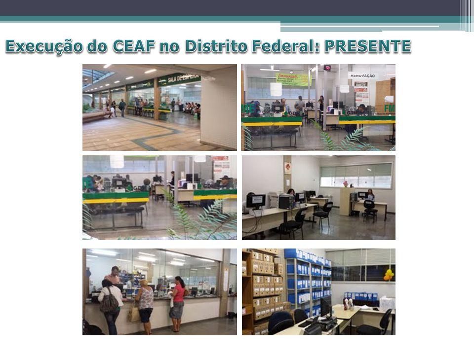 Execução do CEAF no Distrito Federal: PRESENTE
