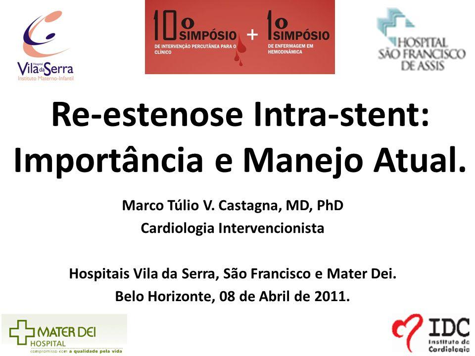 Re-estenose Intra-stent: Importância e Manejo Atual.