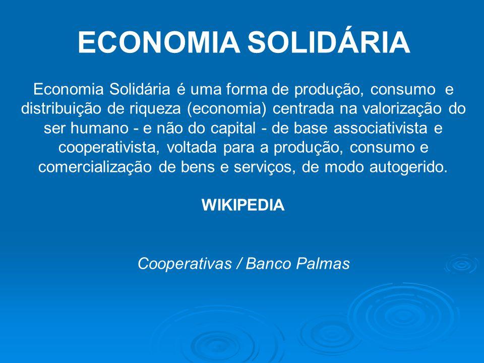 Cooperativas / Banco Palmas