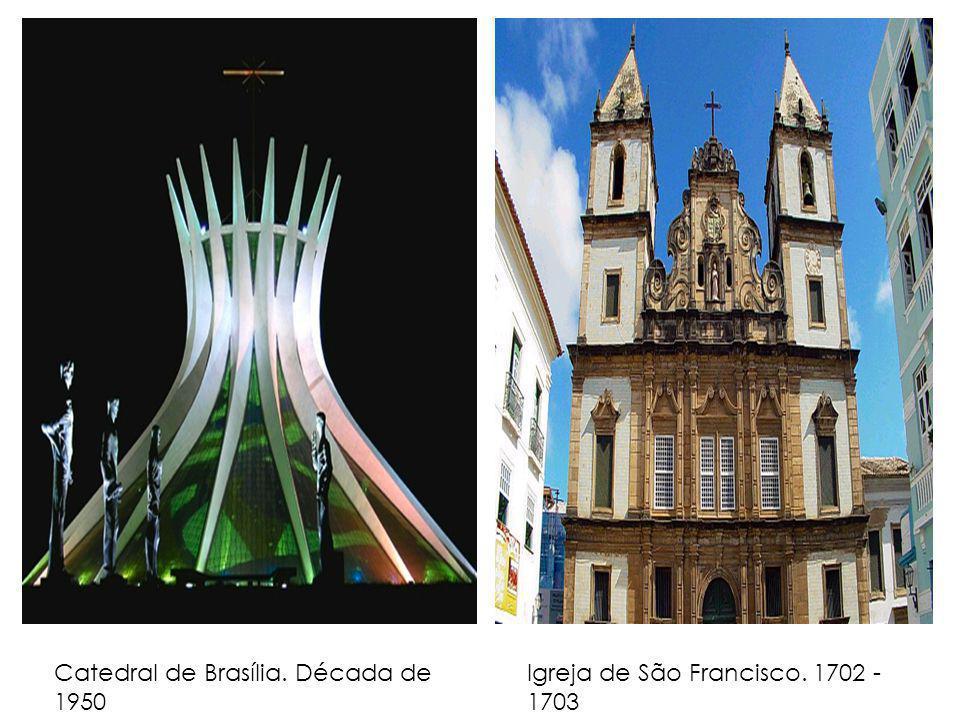 Catedral de Brasília. Década de 1950