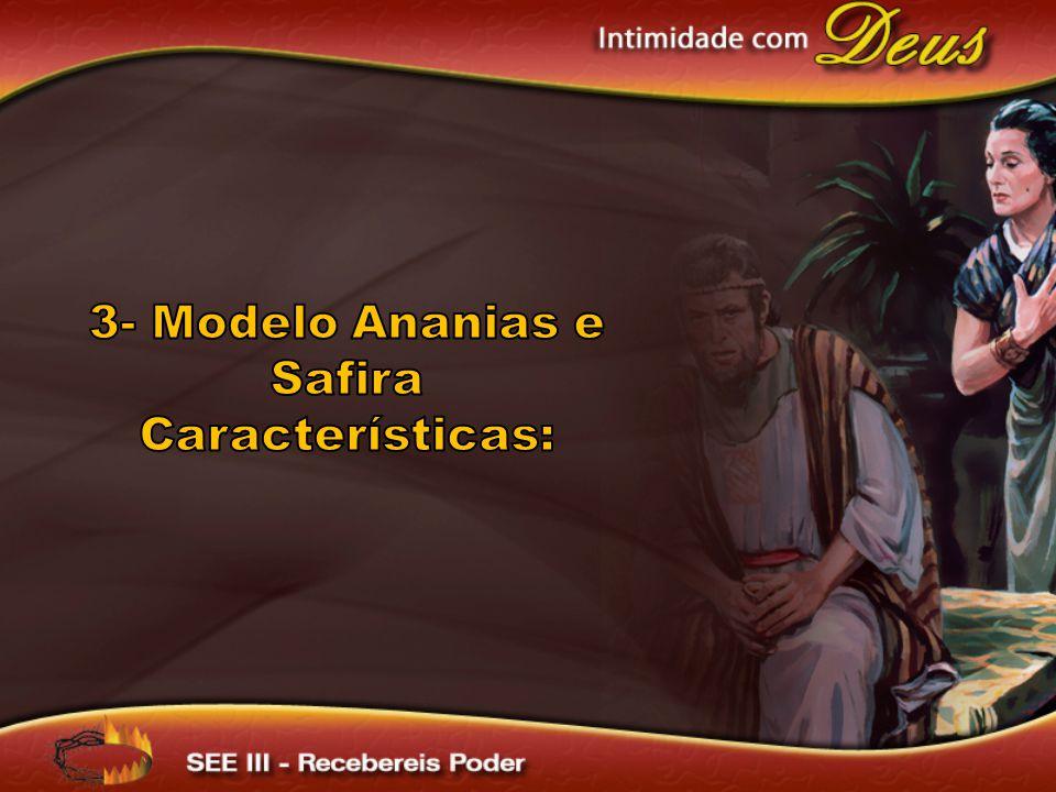 3- Modelo Ananias e Safira