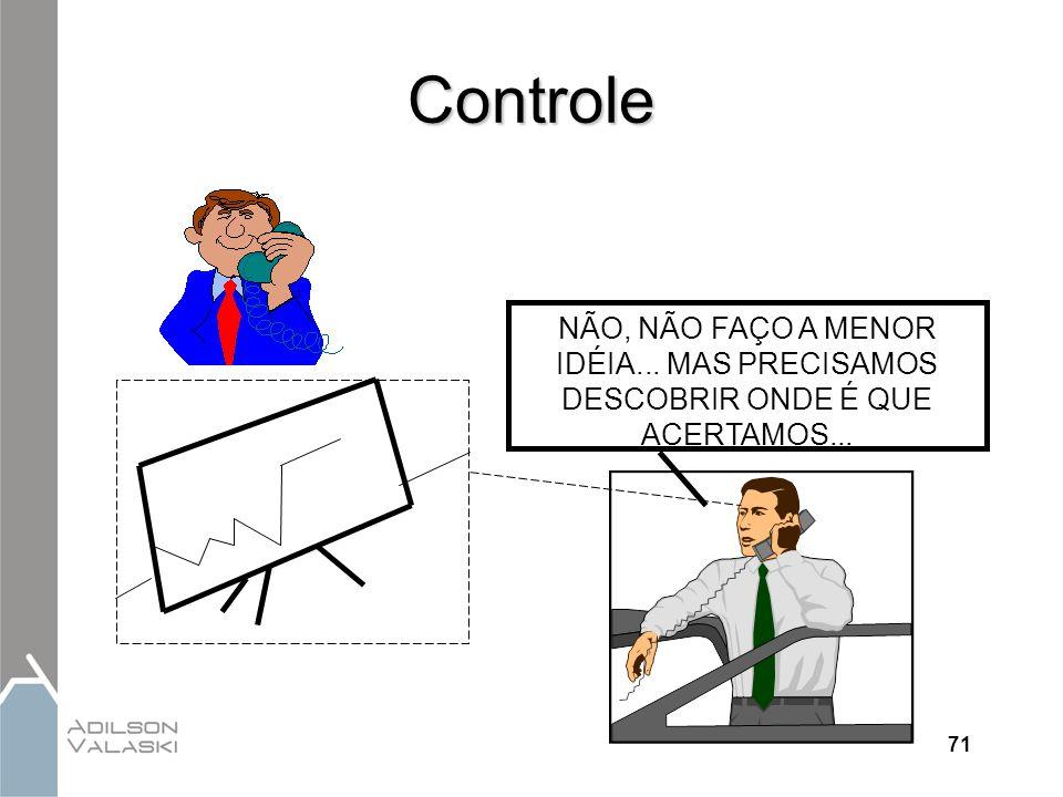 Controle NÃO, NÃO FAÇO A MENOR IDÉIA... MAS PRECISAMOS DESCOBRIR ONDE É QUE ACERTAMOS... 71