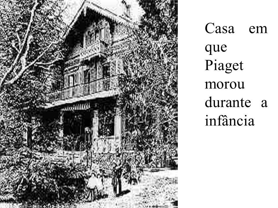 Casa em que Piaget morou durante a infância
