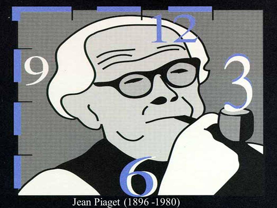 Jean Piaget (1896 -1980)