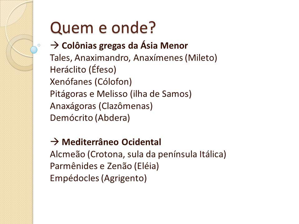 Quem e onde  Colônias gregas da Ásia Menor