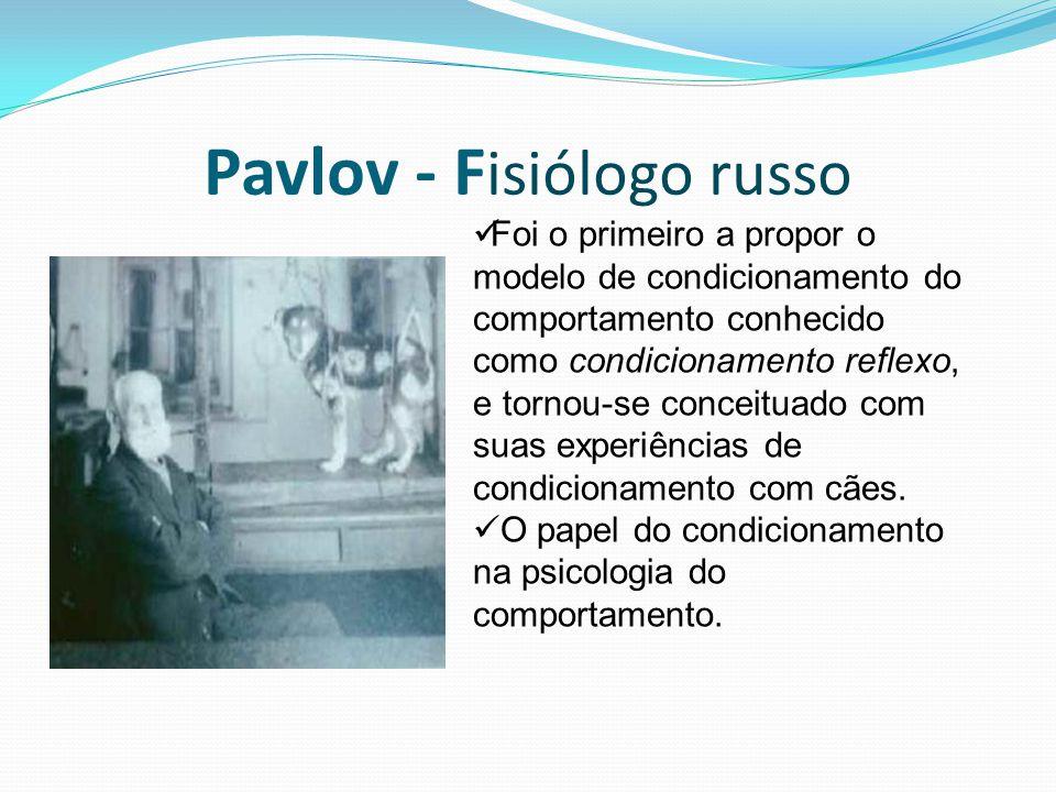 Pavlov - Fisiólogo russo