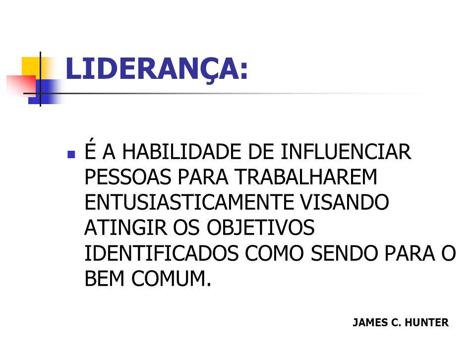 LIDERANÇA: