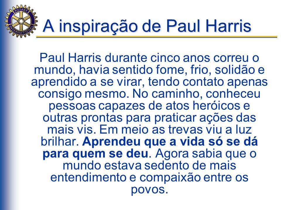 A inspiração de Paul Harris