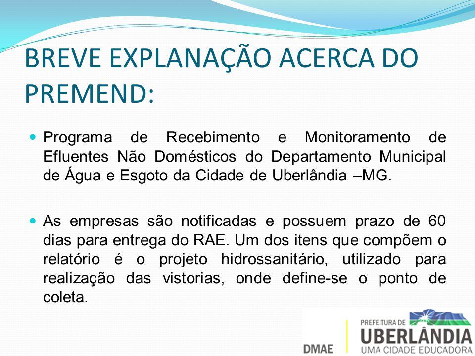 BREVE EXPLANAÇÃO ACERCA DO PREMEND: