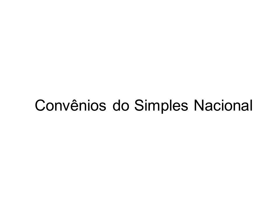 Convênios do Simples Nacional