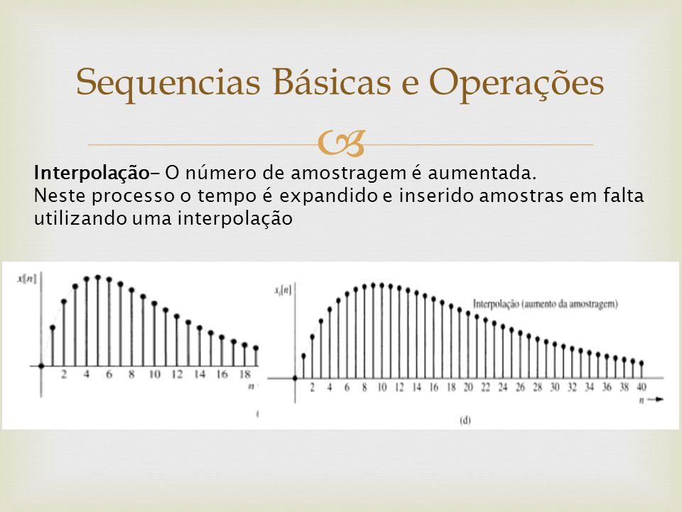 Sequencias Básicas e Operações