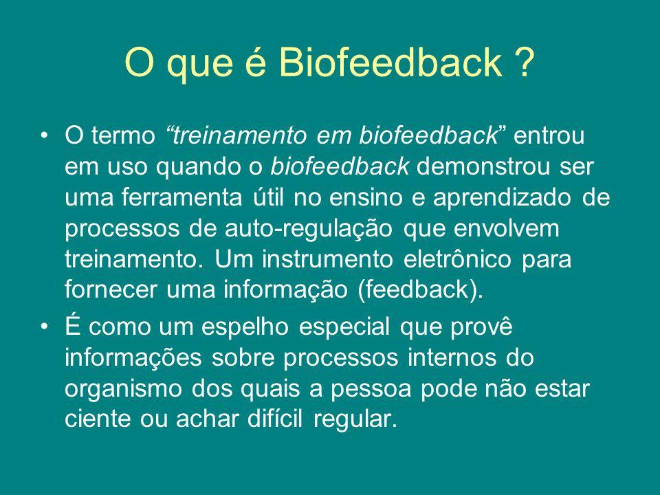 O que é Biofeedback