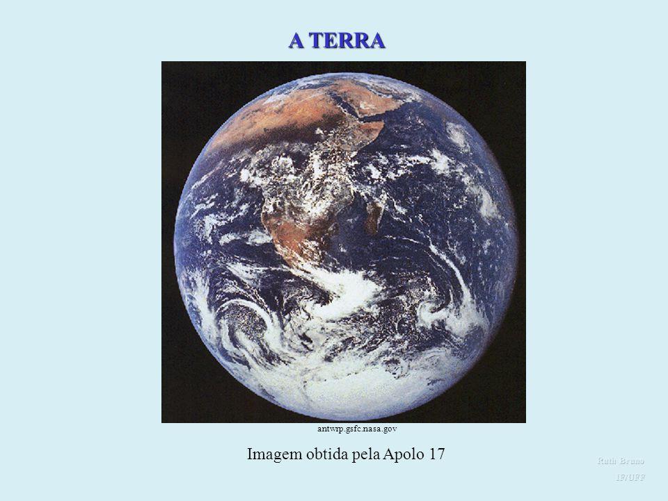 Imagem obtida pela Apolo 17