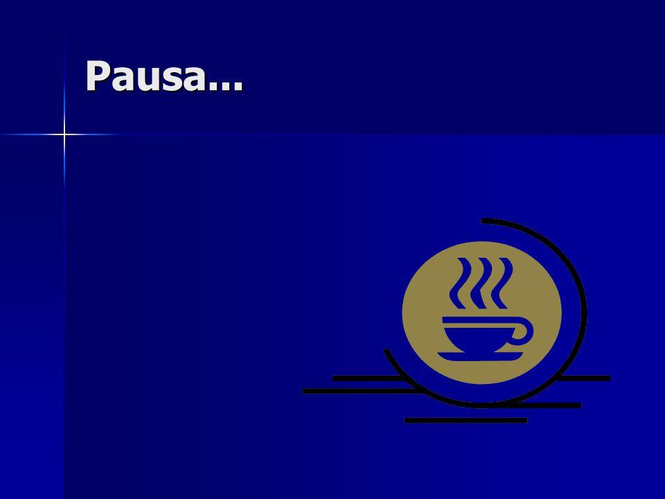 Pausa...