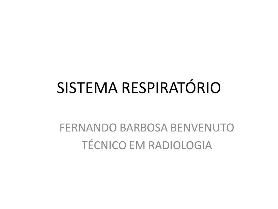 FERNANDO BARBOSA BENVENUTO TÉCNICO EM RADIOLOGIA