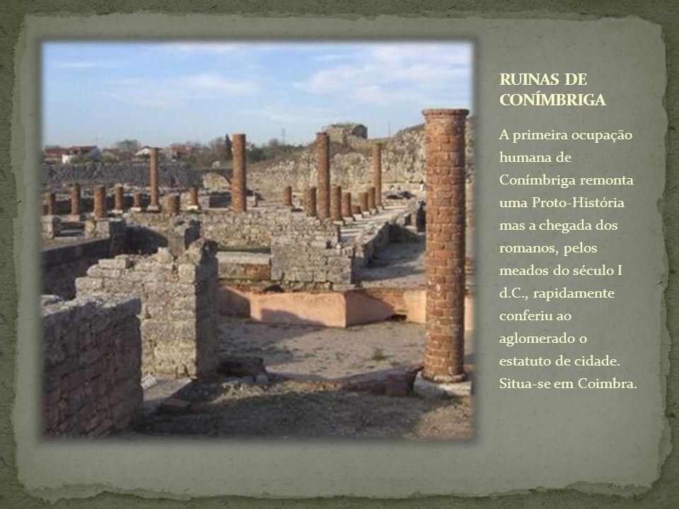 RUINAS DE CONÍMBRIGA