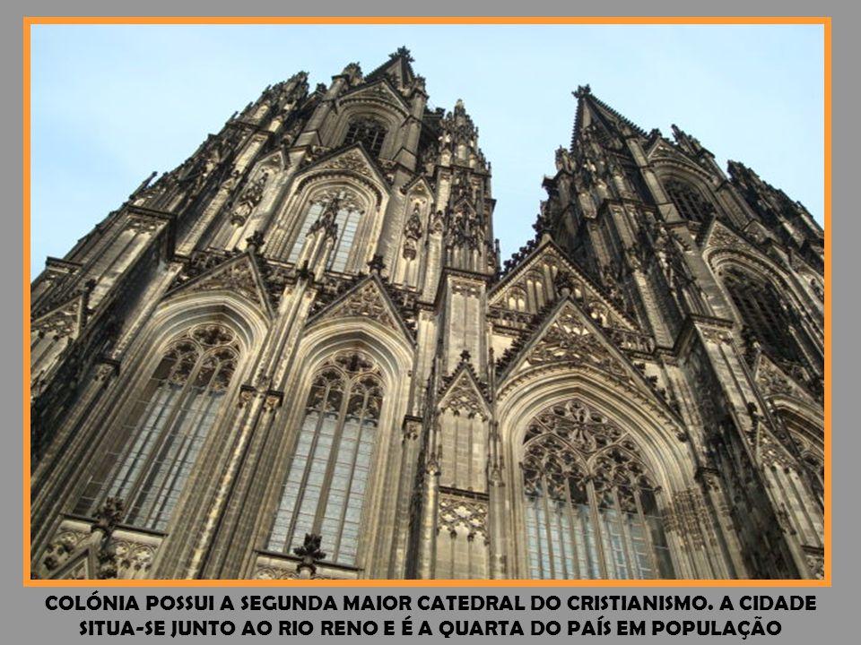 COLÓNIA POSSUI A SEGUNDA MAIOR CATEDRAL DO CRISTIANISMO