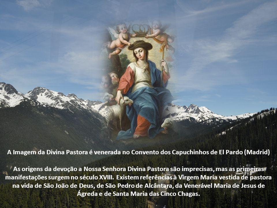 A Imagem da Divina Pastora é venerada no Convento dos Capuchinhos de El Pardo (Madrid)