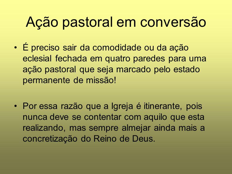 Ação pastoral em conversão