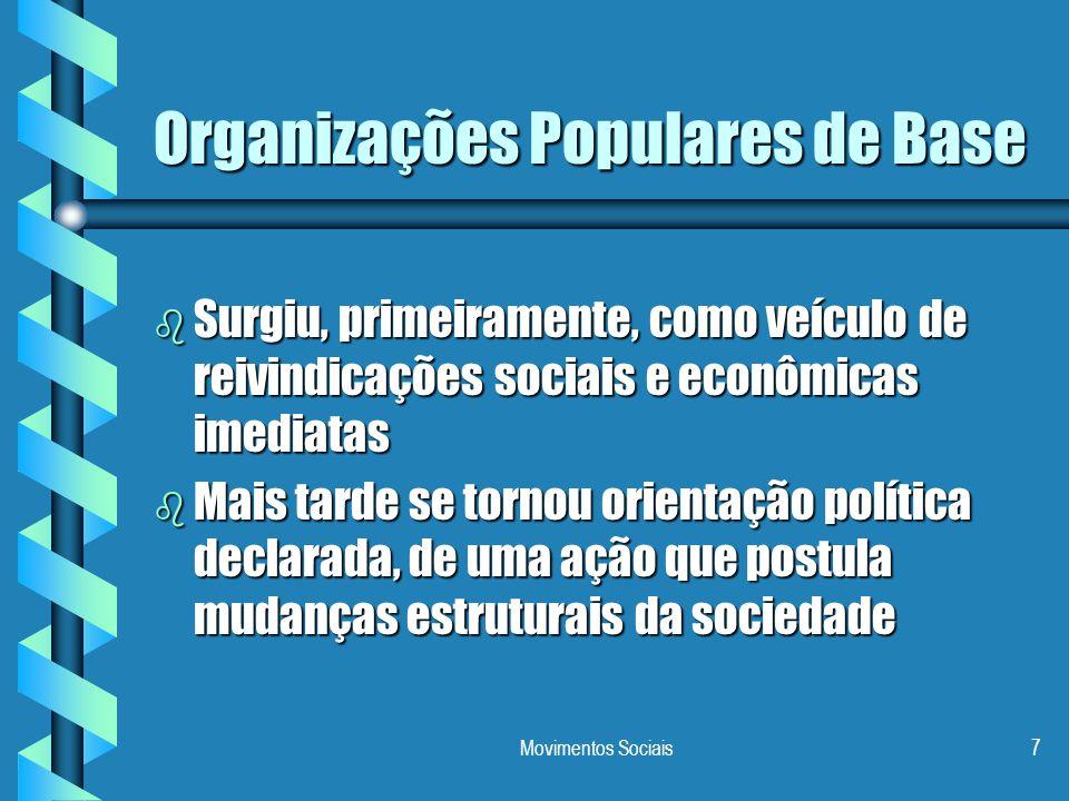 Organizações Populares de Base