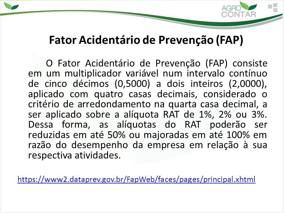 Fator Acidentário de Prevenção (FAP)