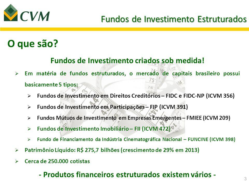 Fundos de Investimento Estruturados