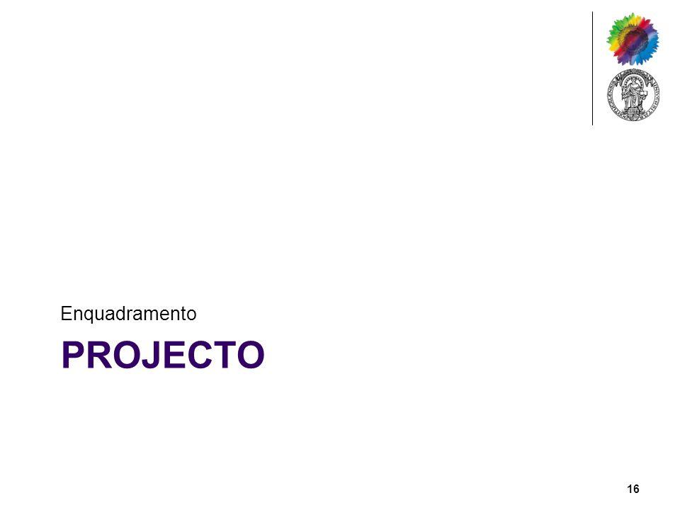 Enquadramento Projecto