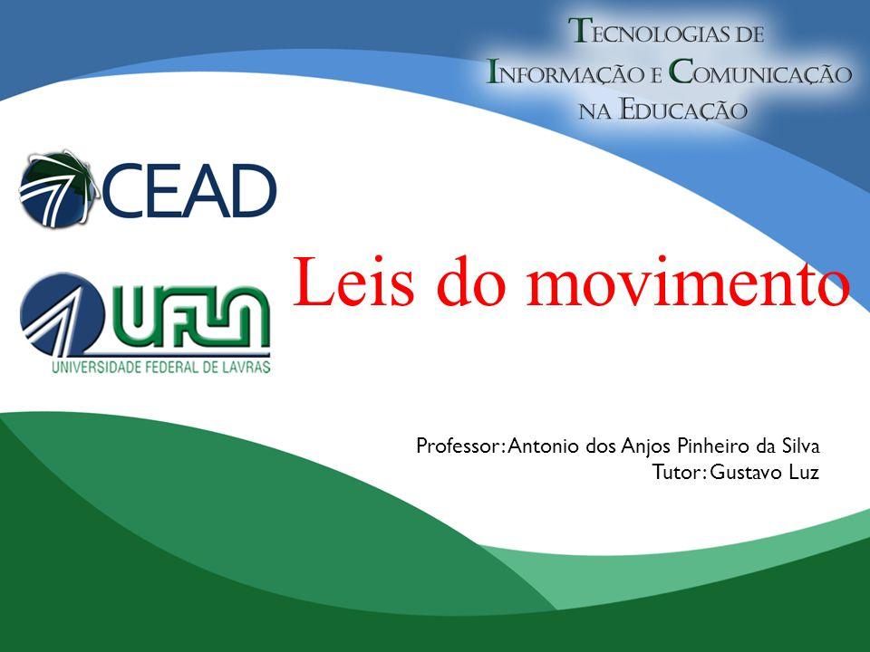 Leis do movimento Professor: Antonio dos Anjos Pinheiro da Silva