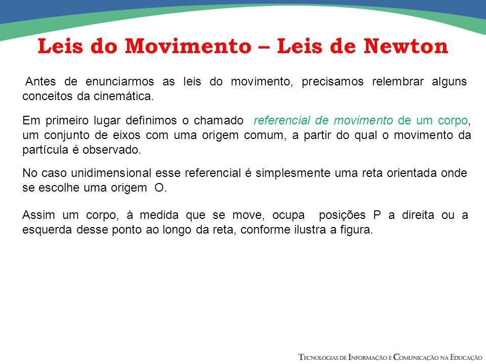 Leis do Movimento – Leis de Newton